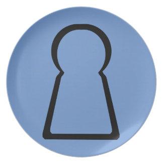 Keyhole-Hollow Plate