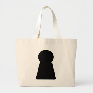 Keyhole Large Tote Bag