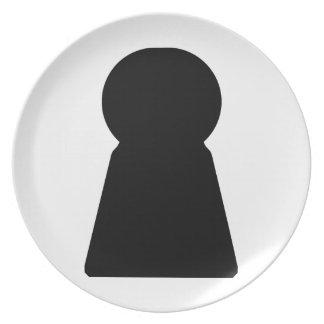 Keyhole Plate