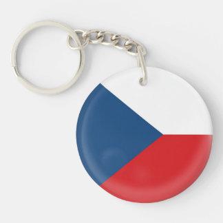 Keyring Czech Republic flag