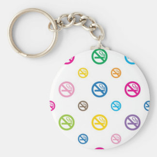 keyring_No smoking_w Key Ring