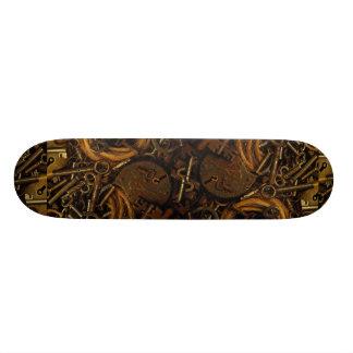 Keys and Locks 21.6 Cm Skateboard Deck
