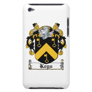 Keys Family Crest Barely There iPod Cases