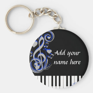 Key's Lof Love_ Basic Round Button Key Ring