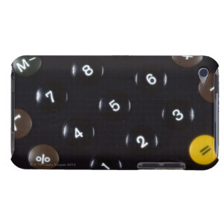 Keys on a calculator barely there iPod cases