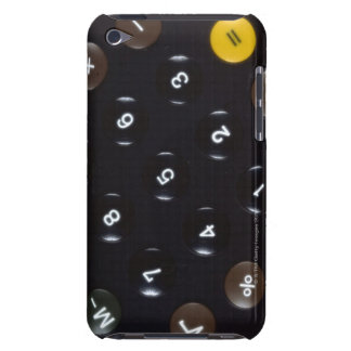 Keys on a calculator iPod touch case