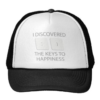Keys To Happiness Cap