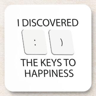 Keys To Happiness Coaster