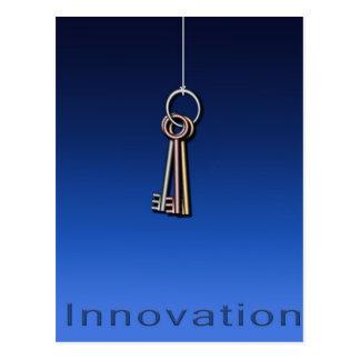 Keys to Innovate Postcard