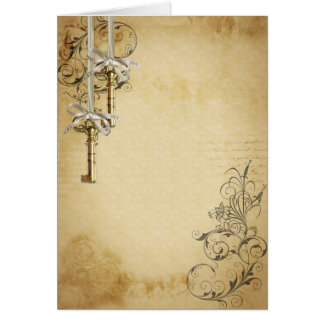 Keys to memories card