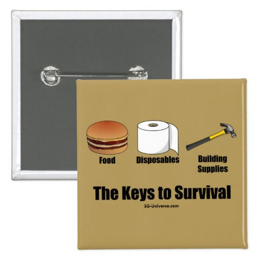 Keys to Survival Button