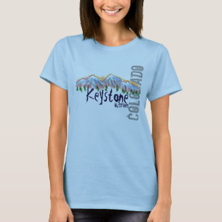 Keystone Colorado elevation tee
