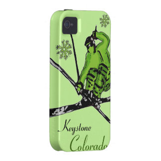 Keystone Colorado green skier theme iphone case Vibe iPhone 4 Covers