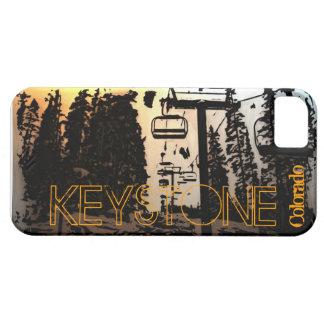 Keystone Colorado ski lift iphone 5 case