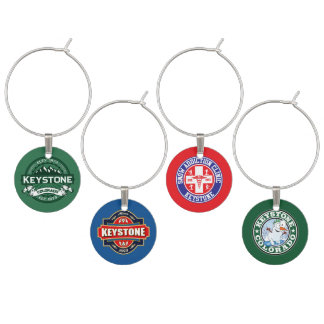 Keystone Colorado Wine Charms