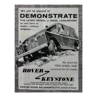 Keystone Demonstration poster