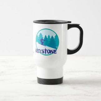 Keystone Ski Circle Personalized Travel Mug