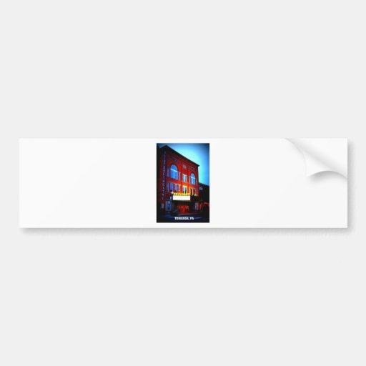KEYSTONE THEATRE - TOWANDA, PENNSYLVANIA BUMPER STICKERS