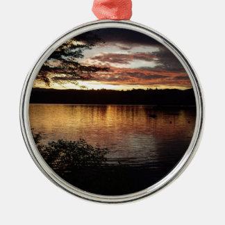 Kezar Lake - Maine Metal Ornament