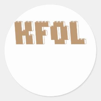 KFOL Kid Fan of ...... by Customize My Minifig Stickers