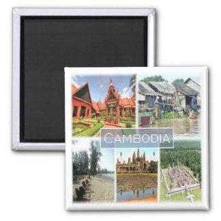 KH * Cambodia - Angkor Wat - Phonom Penh Magnet