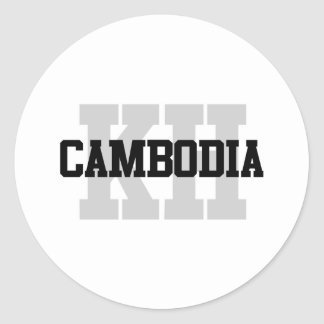 KH Cambodia Stickers