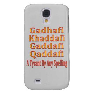 Khaddafi Ghadafi Qaddafi Galaxy S4 Covers