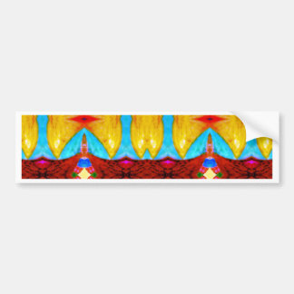 """Khajane"" meaning ""Treasures"" products Bumper Sticker"