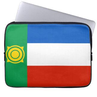 khakasiya flag russia country republic region computer sleeves