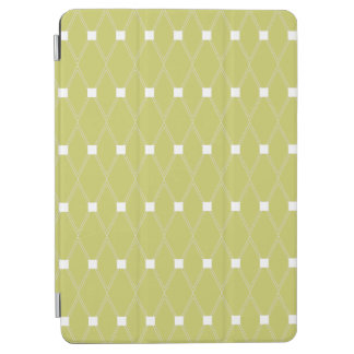 Khaki Argyle Lattice iPad Air Cover