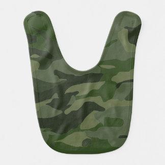 Khaki camouflage bib
