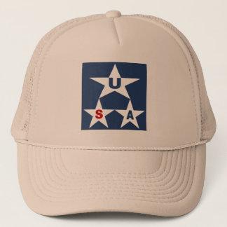 KHAKI   CAP   TRUCKER    NEW DESIGN THE USA