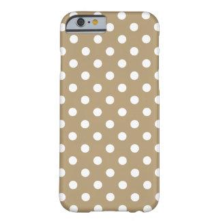 Khaki Polka Dot iPhone 6 Case