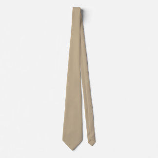 Khaki Solid Color Tie