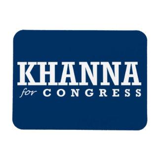 KHANNA FOR CONGRESS 2014 RECTANGULAR MAGNETS