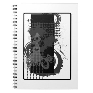 Khat Logo Splatter Notebook