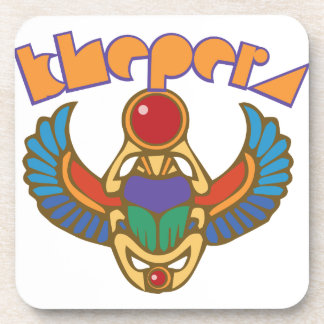Khepera Drink Coaster