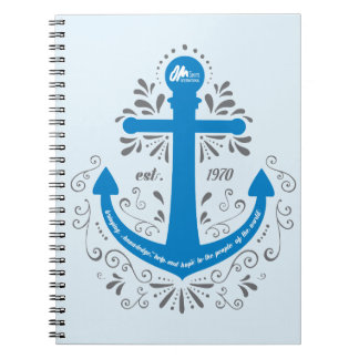 KHH Anchor Blue Notebook