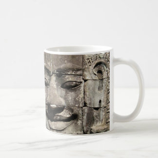 Khmer Stone Face ... Bayon Temple, Cambodia Coffee Mug
