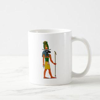 Khnum, Ancient Egyptian God Basic White Mug
