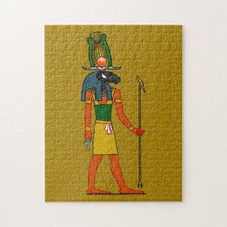 Khnum, Ancient Egyptian God Puzzle