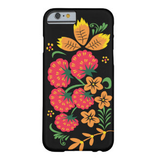 Khokhloma Rasberry IPhone Case