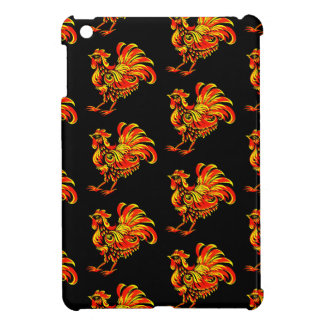 Khokhloma rooster case for the iPad mini