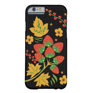 Khokhloma Strawberry IPhone Case