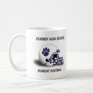 KHS Bearcat Football Helmet Coffee Mug