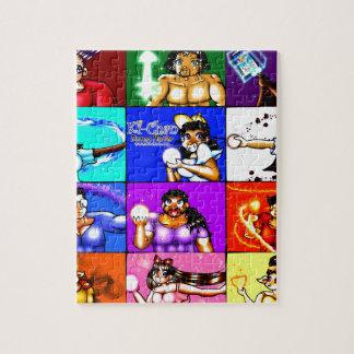 Ki-Chan: Demon Hunter Block Jigsaw Puzzle