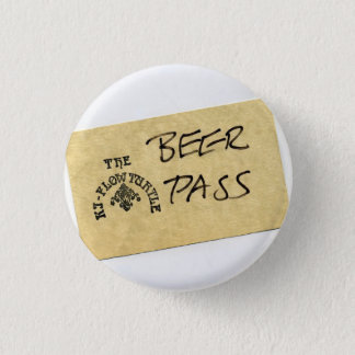 Ki - Flow Turtle Beer Pass 3 Cm Round Badge