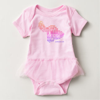 Ki Hay Tutu Baby Bodysuit