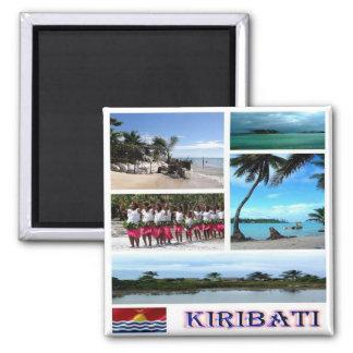 KI - Kiribati - mosaic collage Magnet