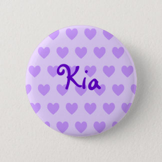 Kia in Purple 6 Cm Round Badge